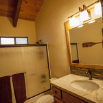Wildhorn Tahoe Donner Vacation Rental Master Bathroom